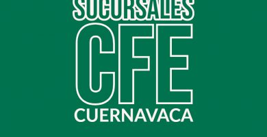 Sucursales CFE en Cuernavaca